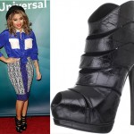 Glam or Not: Vanessa White at NBC Universal's 2013 Winter TCA Tour, Day 2