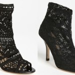 Get on the Softer Side of Edgy-Chic with VC Signature Lace Booties!